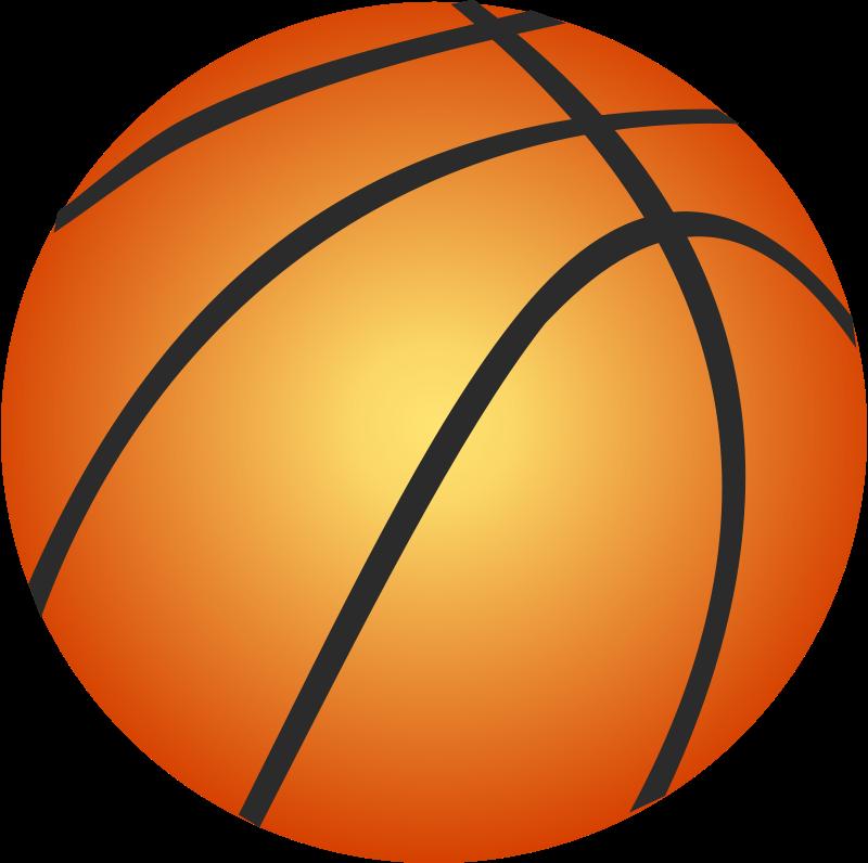 800x796 Basketball Clipart
