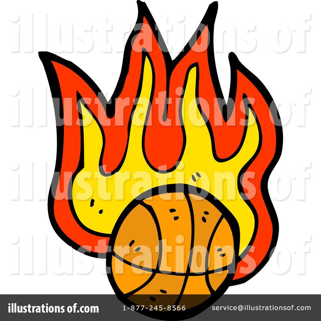 1024x1024 Girls Basketball Clip Art Free Royalty Free (Rf) Flaming