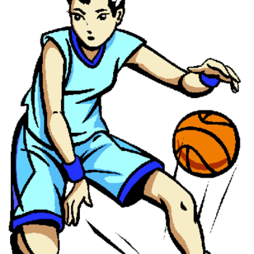 1024x1024 Girls Basketball Clip Art Heart Clipart