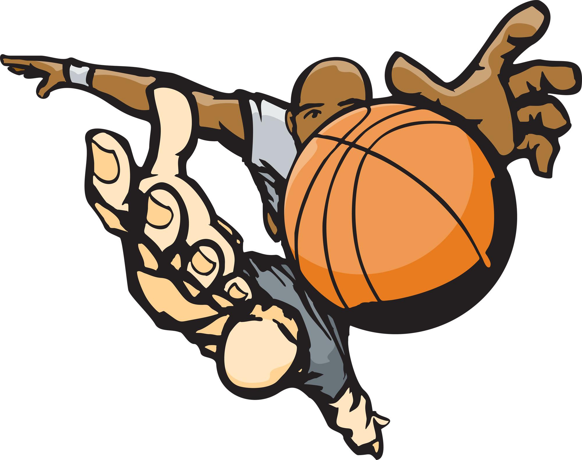 2000x1580 Symbolic Flaming Basketball Ball Royalty Free Vector Clip Art