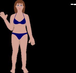 299x288 Female Human Body Clip Art
