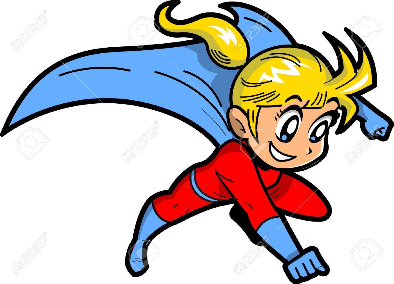 1300x937 Super Girl Clipart Cape#3966667