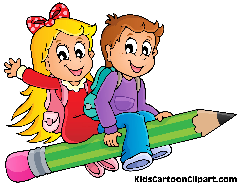 5132x3988 Boy And Girl Cartoon Clip Art 101 Clip Art