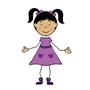 300x300 Children Cartoon Clipart Image