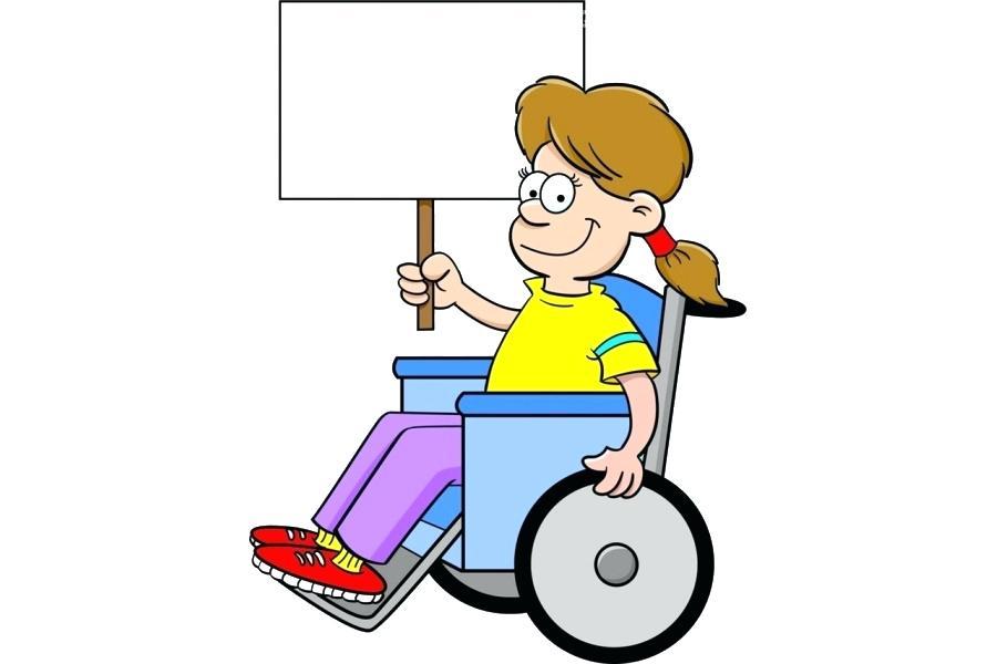 900x600 Disability Clip Art Wheelchair Disability Child Clip Art Cartoon