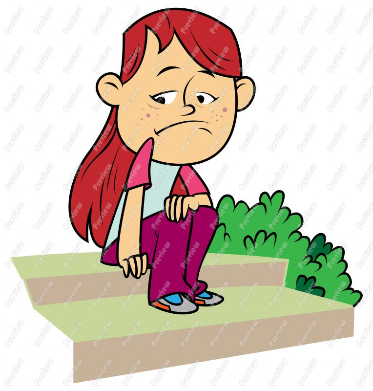 764x800 Sad Girl Child Clip Art