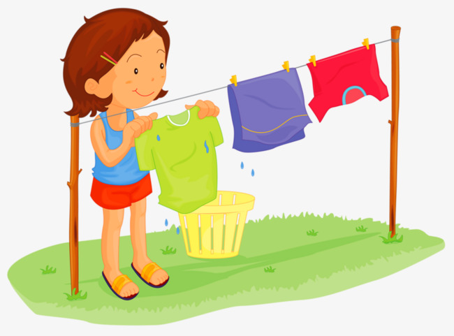 650x481 Dry Clothes Girl, Girl, Clothes, Meadow PNG Image and Clipart for