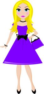 140x300 Free Debutante Clipart Image 0515 1102 1512 3212 People Clipart