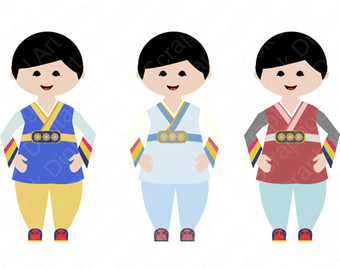 340x270 Korean Girl Hanbok Hanbok Clip Art Hanbok Girl Korean