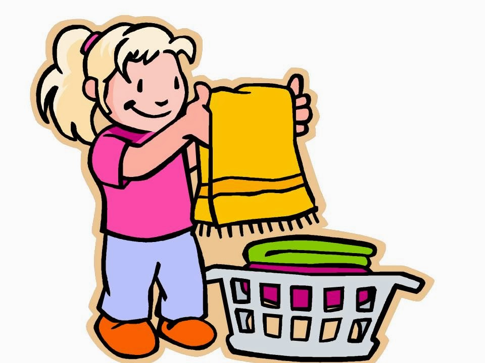 960x720 girl cleaning room room clipart