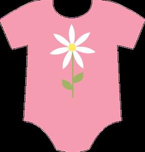 286x299 Baby Girl Onesie Clip Art Clip Art