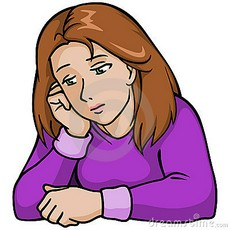 230x230 Lonely Clipart Sad Lady