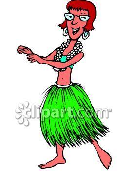 Girl Dancing Clipart