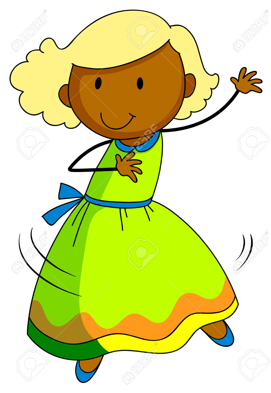 899x1300 Girl Dancing Alone Dancing Clipart, Explore Pictures