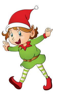 236x370 Christmas Girl Elf Clip Art Clip Art