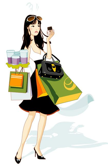 420x650 203 Best Fashion Clipart Amp Images