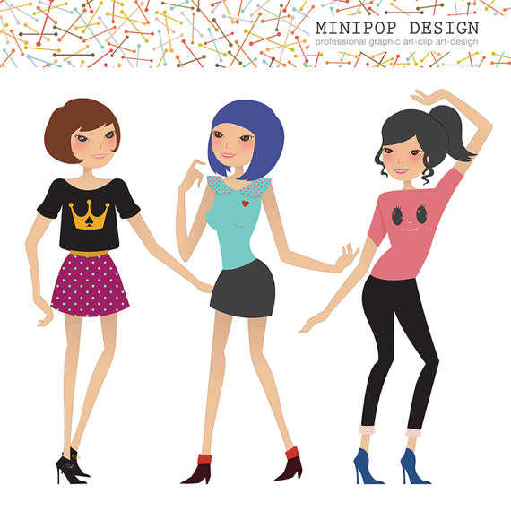 570x570 Fashion Girls Stylish Girls Clipart Clip Art Fashion