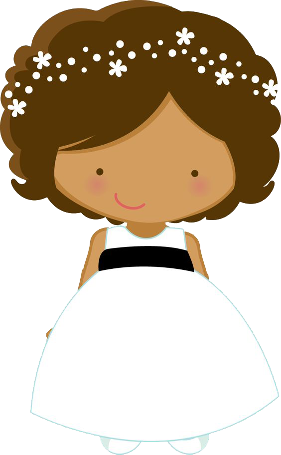 564x912 Flower Girl Wedding Bride Page Boy Clip Art