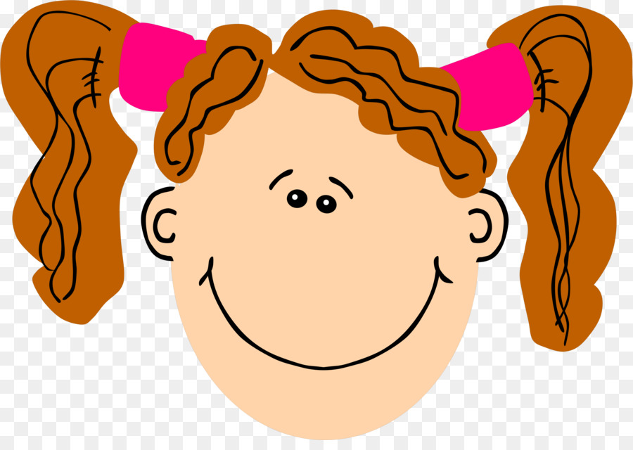 900x640 Pigtail Girl Brown Hair Computer Icons Clip Art