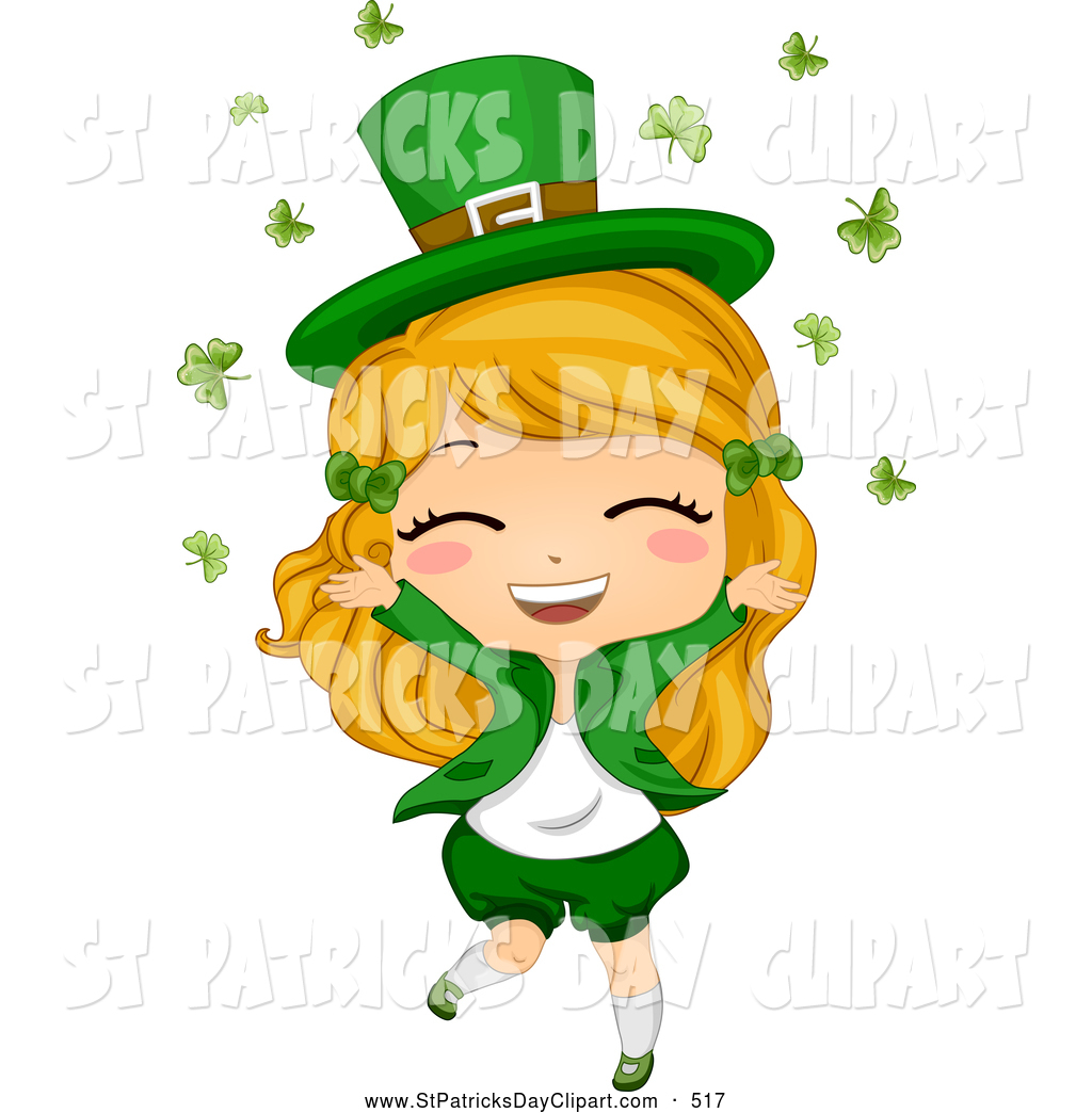 1024x1044 Royalty Free Stock St. Patrick's Day Designs Of Leprechauns