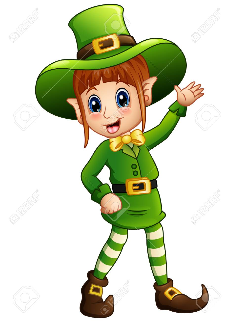 988x1300 Girl Leprechaun Clipart Clip Art Of Happy White St Patricks Day