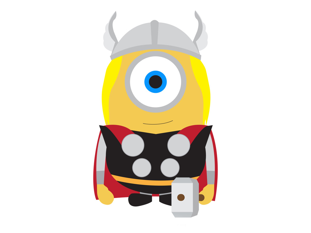 1024x768 A Cute Collection Of Despicable Me 2 Minions Wallpapers, Images