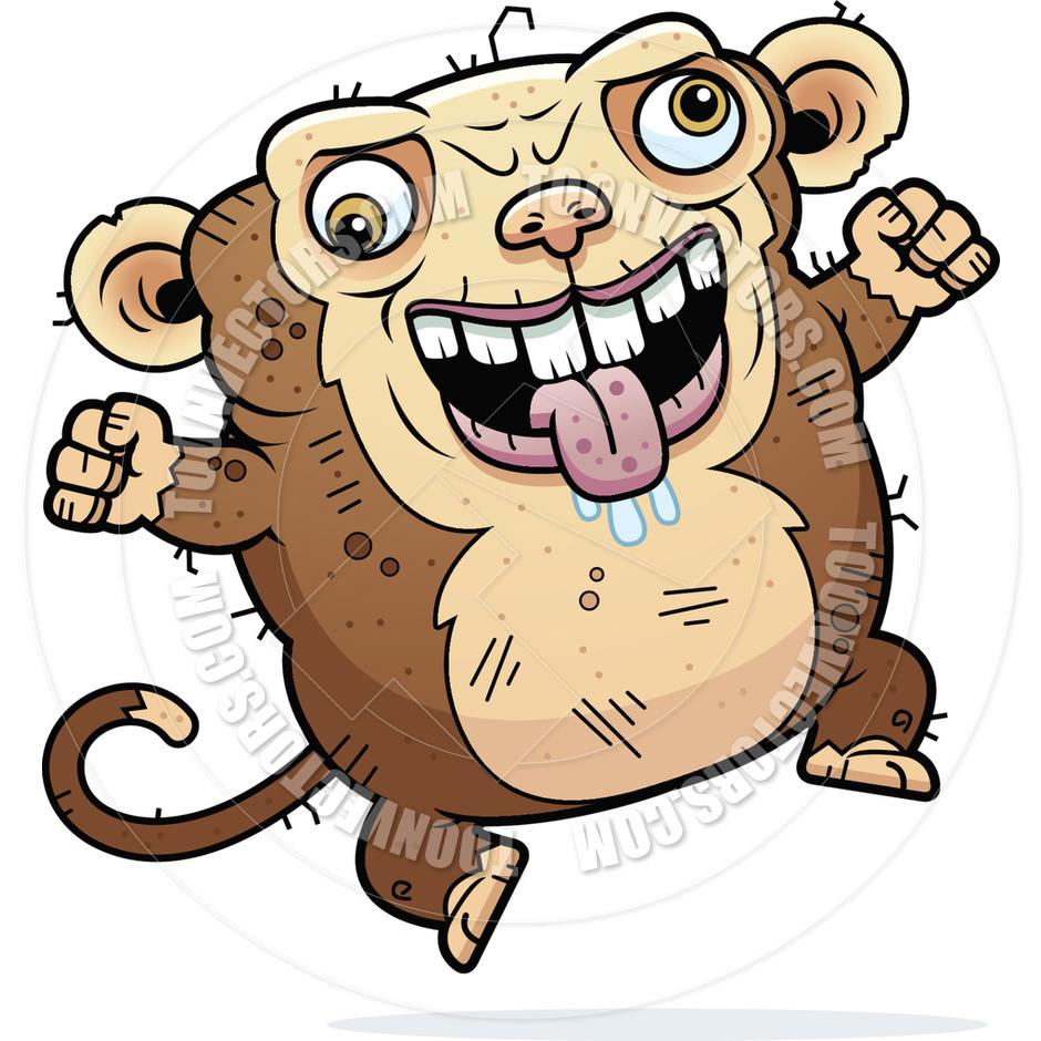 940x940 Crazy Monkey Clipart