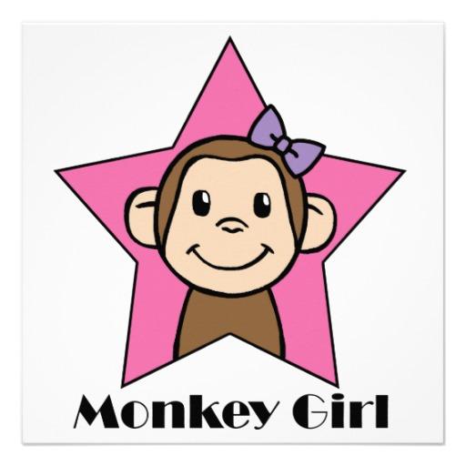 512x512 Monkey Love Party Clip Art