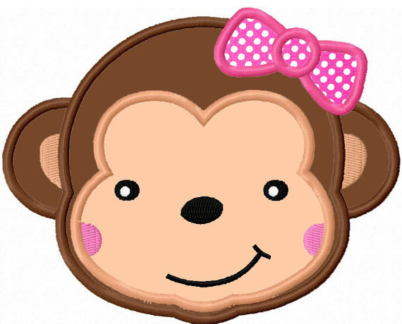 570x460 Collection Of Monkey Girl Clipart High Quality, Free