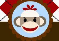 200x140 Sock Monkey Clip Art Goosie Girl Sock Monkey Cookies History