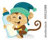 167x150 Spider Monkey Clip Art