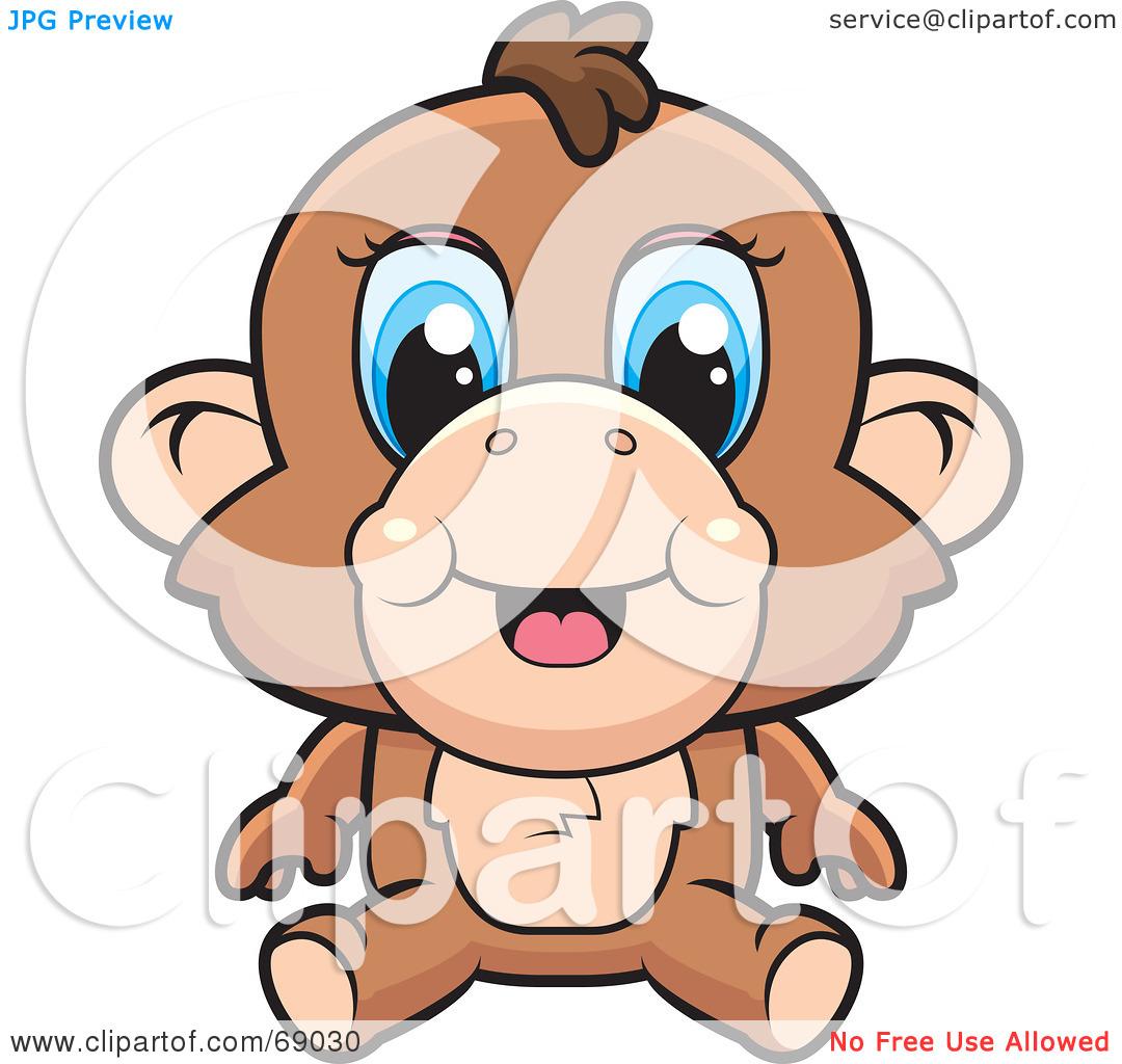 1080x1024 Baboon Clipart
