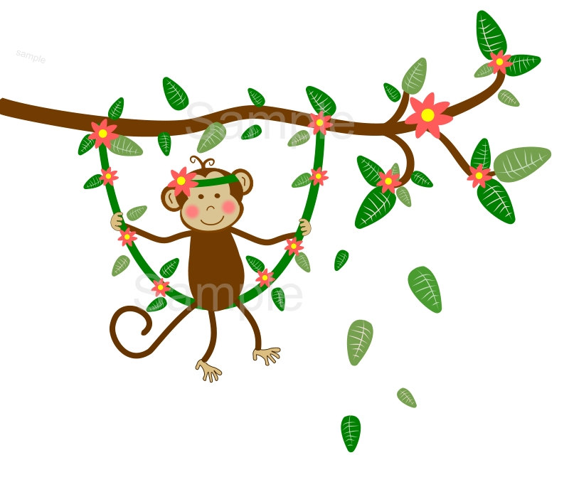 800x685 Baby Girl Monkey Clip Art Clipart Panda