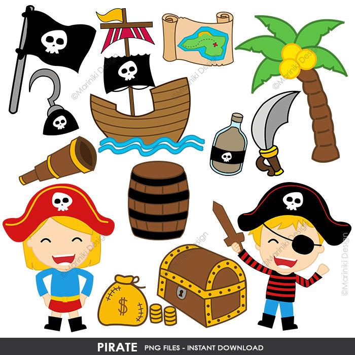 700x700 Pirate Clipart, Cute Pirates Clip Art, Pirate Boy Girl Clip Art