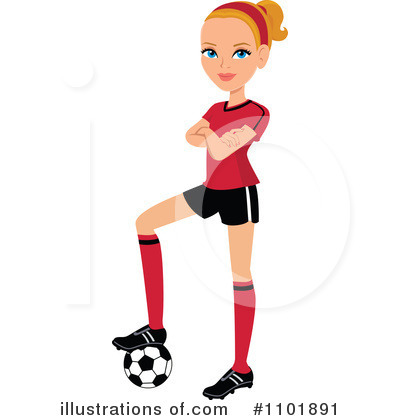 400x420 Collection Of Female Soccer Coach Clipart High Quality, Free