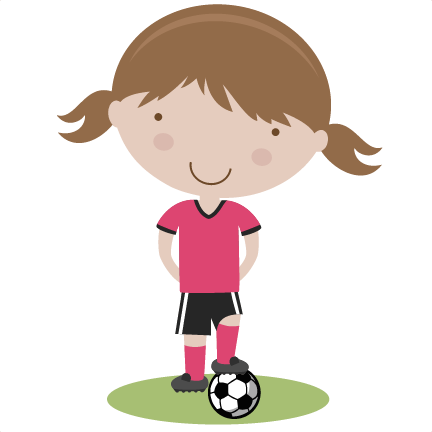 432x432 Girl Soccer Player Svg Cutting File Soccer Svg Cut Files Free Svgs