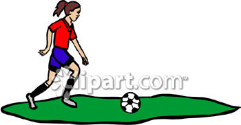 350x182 Young Girl Playing Soccer