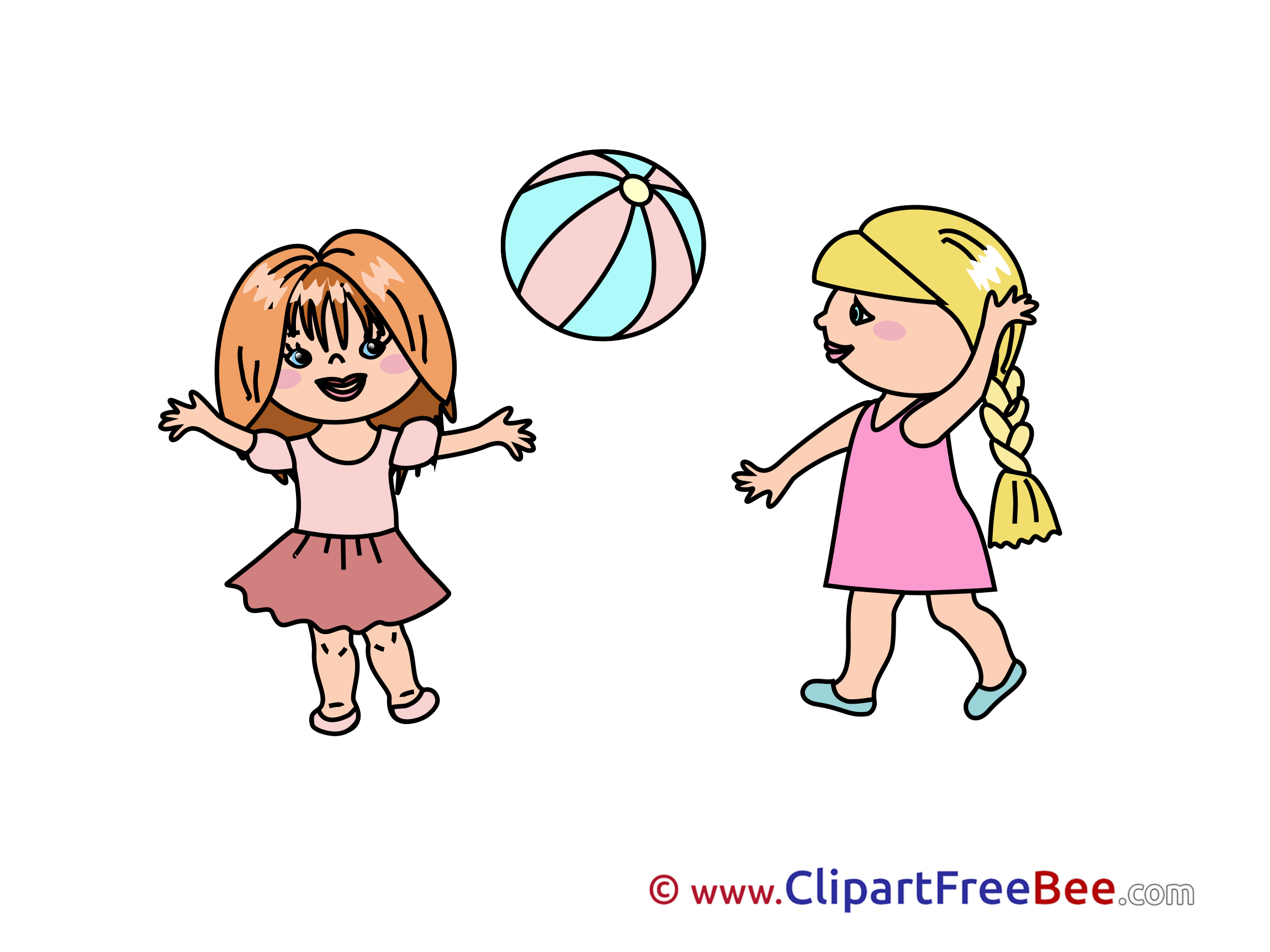 2300x1725 Girls Playing Kindergarten Clip Art Images In High Resolution