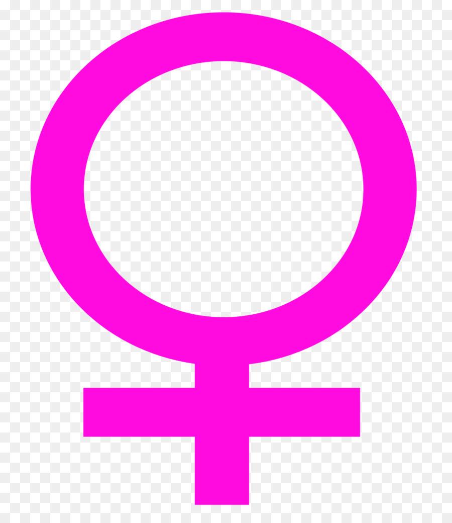 900x1040 Gender Symbol Female Woman Clip Art