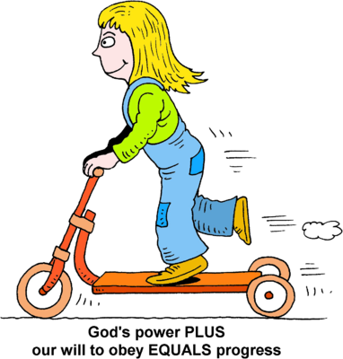 382x400 Image Girl On Kick Scooter