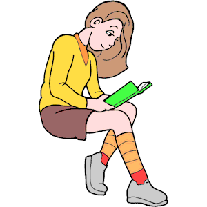 300x300 Girl Reading 6 Clipart, Cliparts Of Girl Reading 6 Free Download