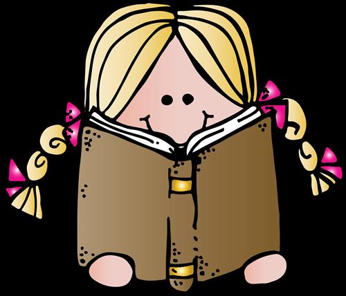 500x428 Girl Reading Melonheadz Girl Reading