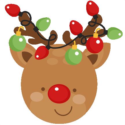 Girl Reindeer Clipart