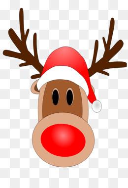 260x380 Rudolph Reindeer White Tailed Deer Clip Art