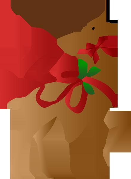 440x600 Free Christmas Reindeer Clipart A Clip Art