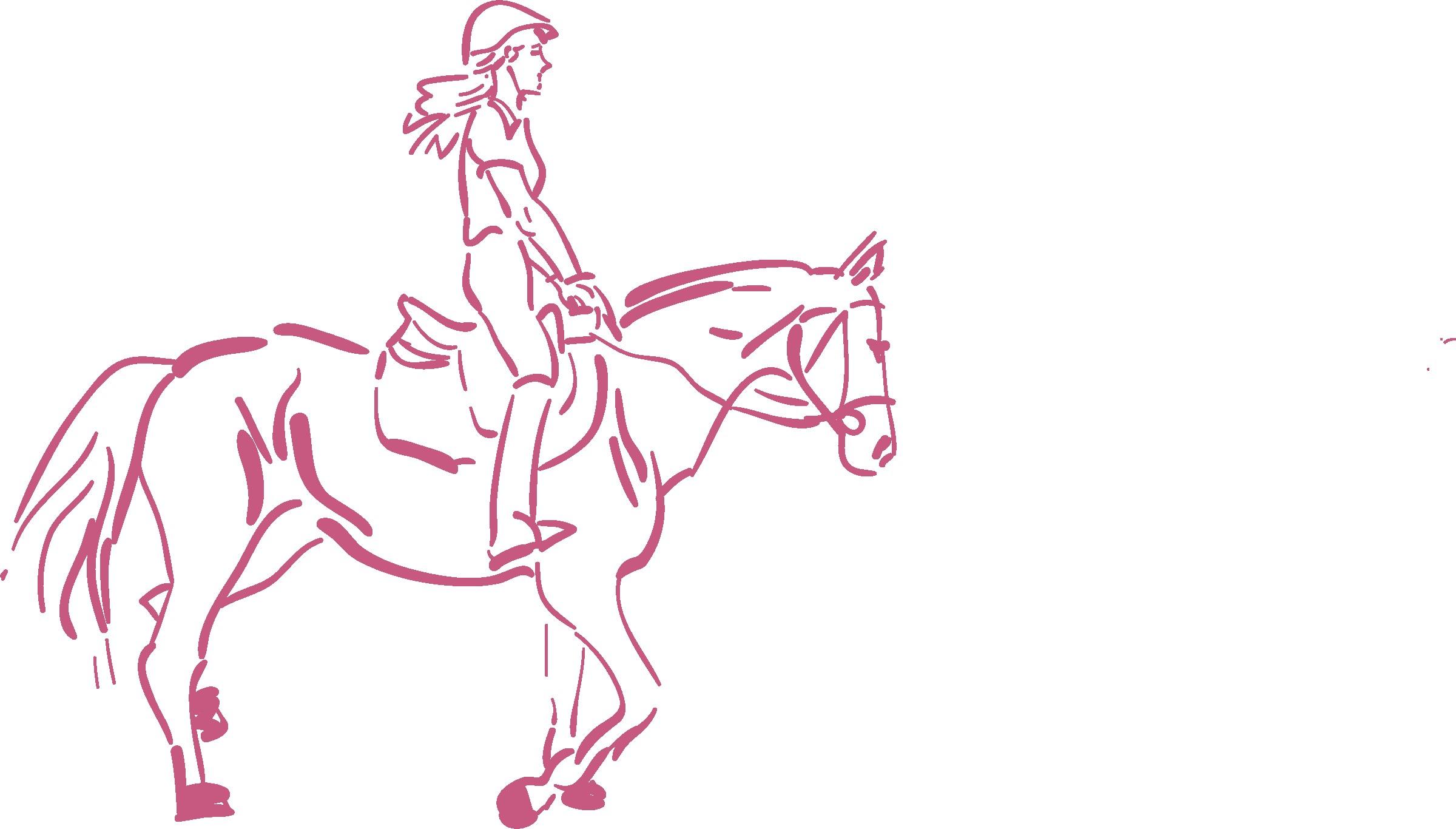2400x1366 Girl Riding Horse Clipart 2 Clip Art Net Beautiful
