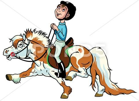 480x352 37 Best Cartoon Horse And Rider Images On Horses