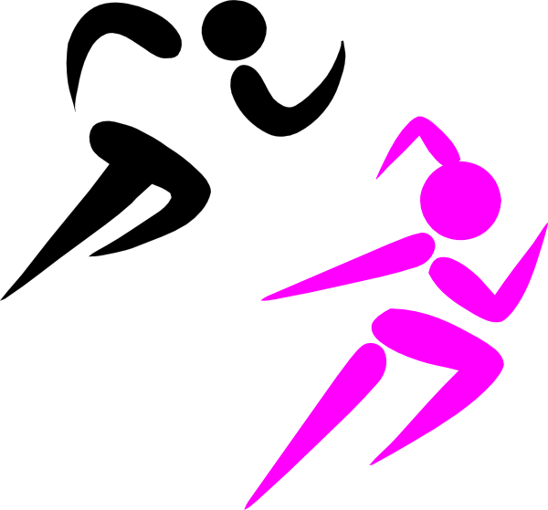 600x559 Running Girl Clipart For Free Girl Running Clip Art
