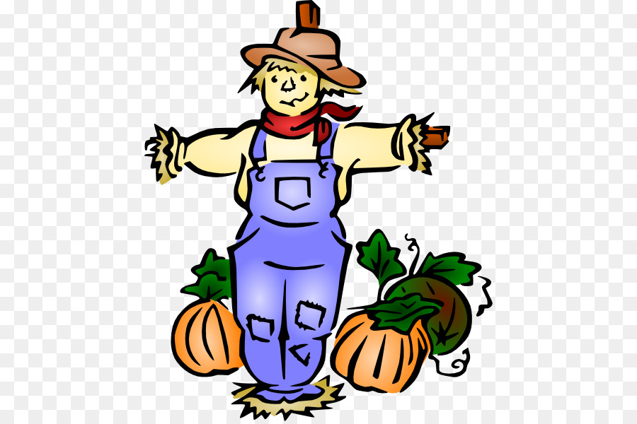 900x600 Scarecrow Clip Art