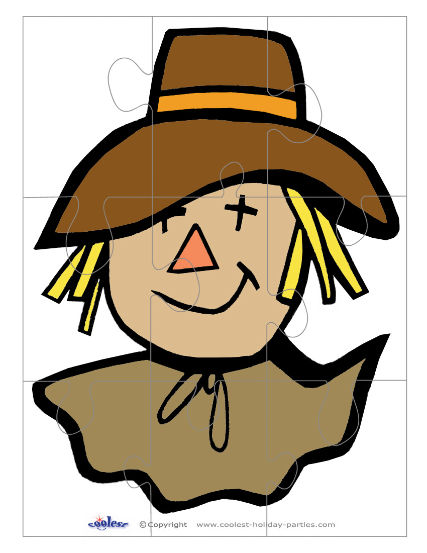 850x1100 Scarecrow Clipart Large 3878432